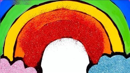 儿童简笔画  七彩虹益智识颜色  儿童益智绘画
