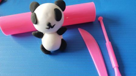 叮叮育儿玩具乐园 创意手工制作粘土小熊