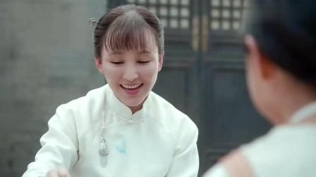 娘道: 瑛娘牢中思念女儿们, 默默流泪
