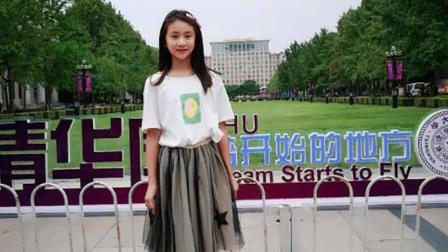 田亮晒女儿开学照, 清纯甜美被公认为校花, 网友: 从小就是明星相
