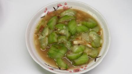 炒丝瓜不变色的秘诀, 来源于长寿乡, 切完泡一会, 你知道吗