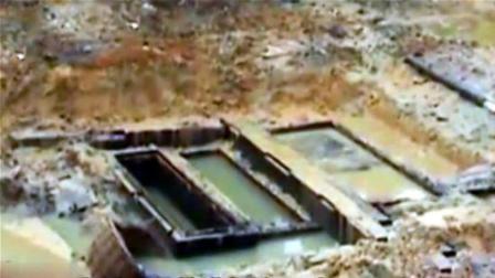 江苏发现千年古墓, 考古队员撬开棺盖后, 棺内女