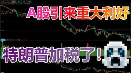 A股迎来重大利好!特拉普加了2000亿关税!!