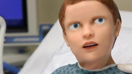 超逼真的机器人娃娃, 会流血、会喊妈妈, 却吓跑了一大群医学生