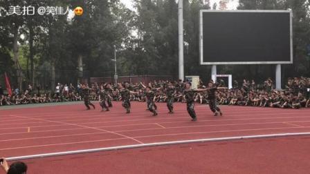 #军训军训军训 北京体育大学 武术小哥哥小姐姐
