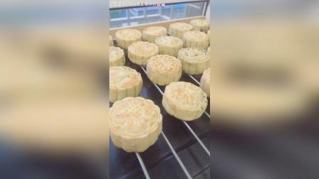 自制广式月饼, 豆沙, 枣泥, 五仁三种馅