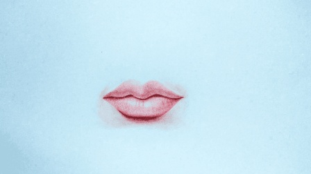彩铅画人物五官之嘴巴, 画好嘴巴, 第一步很重要!
