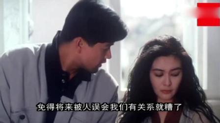 关之琳被男朋友气哭了, 有这么好的女朋友真是身在福中不知福