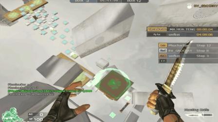 穿越火线: 奇葩玩家练习倒走跑酷, 真怕他砸键盘!