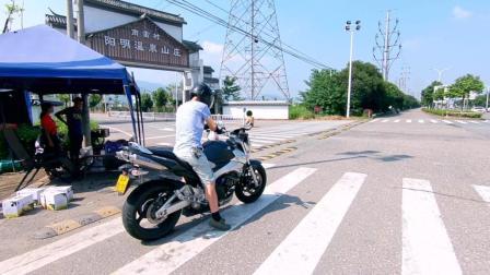 骑着摩托去买葡萄