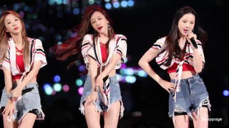 韩国明星女团舞台热舞, 舞姿动感, 你会喜欢的