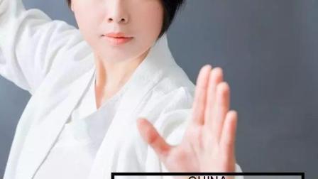白鹤亮翅-杨氏太极拳动作讲解-罗子真