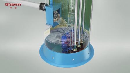 一体化预制泵站三维动画-无负压动画-巨浪视觉