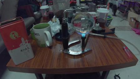 [日常野路子]技术宅的午夜补给-虹吸壶咖啡+烧腊肠