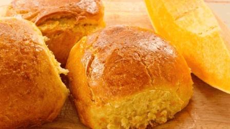 南瓜面包不用再去买, 试下这个新做法, 层次丰富, 松软香甜