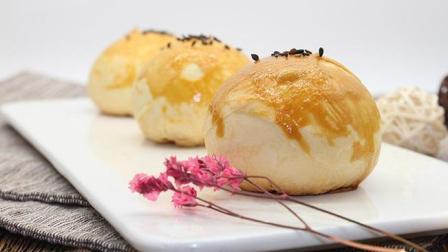 唯月饼和蛋黄酥最为搭配, 西点蛋黄酥培训制作视频教学