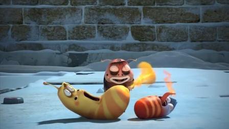 爆笑虫子:大黄为了取暖,屁股都冒火了,这也