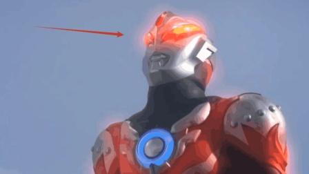 眼睛特别的奥特曼, 除了奥特之王的眼睛是红色, 还有一个能变颜色