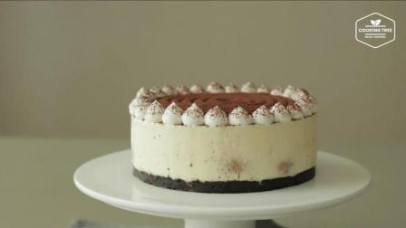 超治愈美食教程: 免烤 提拉米苏芝士蛋糕 Tiramisu Cheesecake