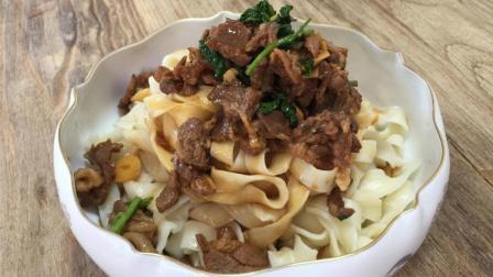 厨师教做地道美食羊肉汆面, 羊肉选择有讲究, 面条劲道又好吃