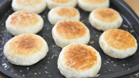中秋节排队才买得到的鲜肉月饼, 教你在家做, 不用烤箱, 外酥里软