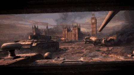 坦克世界居然有剧情  PS4《坦克世界》德军登陆英国 英军战车奋力还击
