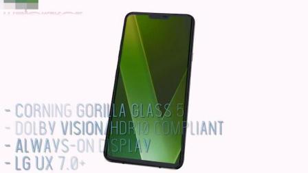 全新的LG V40 ThinQ搭载: 骁龙845, 智能手机2018