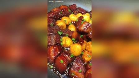 红烧肉焖蛋教程