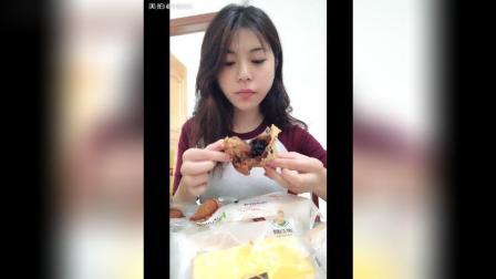 梅花糕 南瓜饼 热狗面包