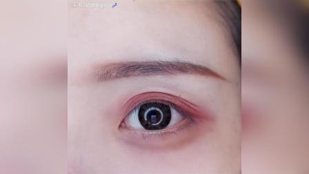 新手 大理石 眼影教程