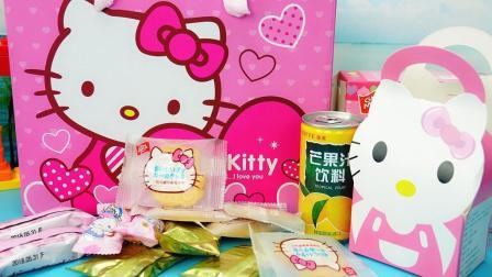 玩具大联萌 HelloKitty零食包 凯蒂猫曲奇饼干大礼盒