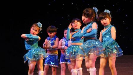 诙谐有趣的幼儿舞蹈《上学堂》