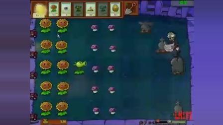植物大战僵尸视频--冒险模式2-1