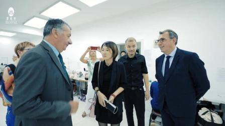 法国勒阿弗尔市市长及当地美业同行参观蒙妮坦