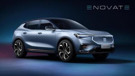 保时捷设计师操刀! 电咖旗下新品牌首款纯电动SUV亮相