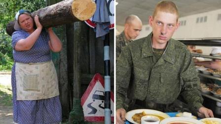 俄罗斯大妈的战斗力有多强? 15人搞定千人伙食, 将军见了都会敬礼