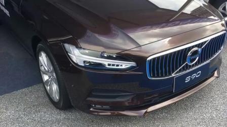现场体验: 全新沃尔沃S90, 车长5米配2.0T+8AT, 油耗7.1L