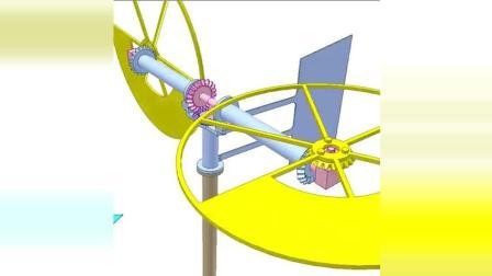 科技奇趣: 半圆形翼型风力涡轮机