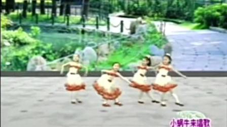 幼儿园舞蹈表演《小蜗牛来唱歌》
