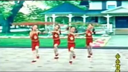 幼儿园舞蹈表演《小小竹篮》