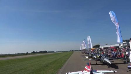 [JetPower2018]非常快的Delta Jet涡喷模型飞机飞行表演