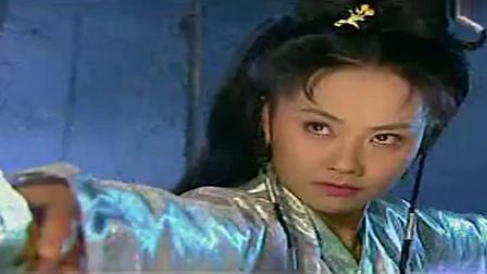 五真女鬼下套想要夺去佛祖的童贞之身, 白莲花发现后将其一剑穿心