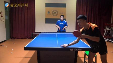 乒乓球接发球汇总: 接勾手发球汇总, 专业选手演示, 来跟着学吧