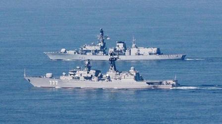 真正对手来了! 美航母战斗群重返中东, 俄大批军舰出海迎敌