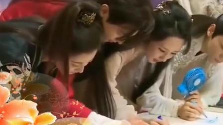 杨紫缺席见面会特录制视频, 香蜜媒体探班主创人