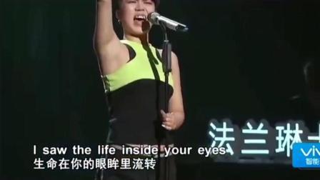 《中国好声音》仅唱两句就让导师冲下, 汪峰 超