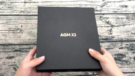 """3399元的""""特种手机""""AGM X3开箱, 怎么摔都不会烂的手机, 超帅!"""