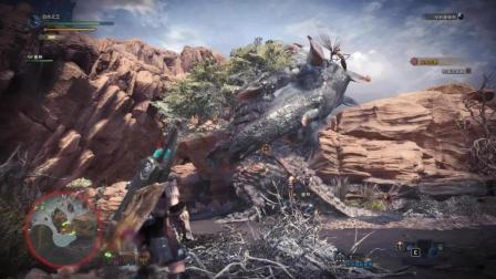 怪物猎人世界: 讨伐泥鱼龙, 这沼泽地真的不适合战斗