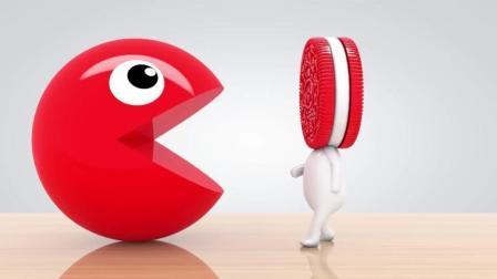 趣味益智动画片 吃豆人吐出饼干人