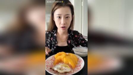蒸南瓜+煎蛋+花生红枣豆浆, 早, 天气渐凉, 宝贝们多加注意~